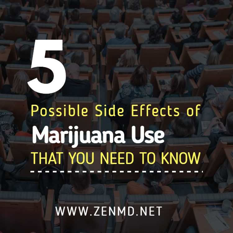 side effects of marijuana use Marijuana is also commonly referred to as a 'gateway drug' that destigmatizes or demystifies the idea of drug use, making marijuana abusers more susceptible to abuse other illicit drugs like cocaine, heroin, hallucinogens or methamphetamines.