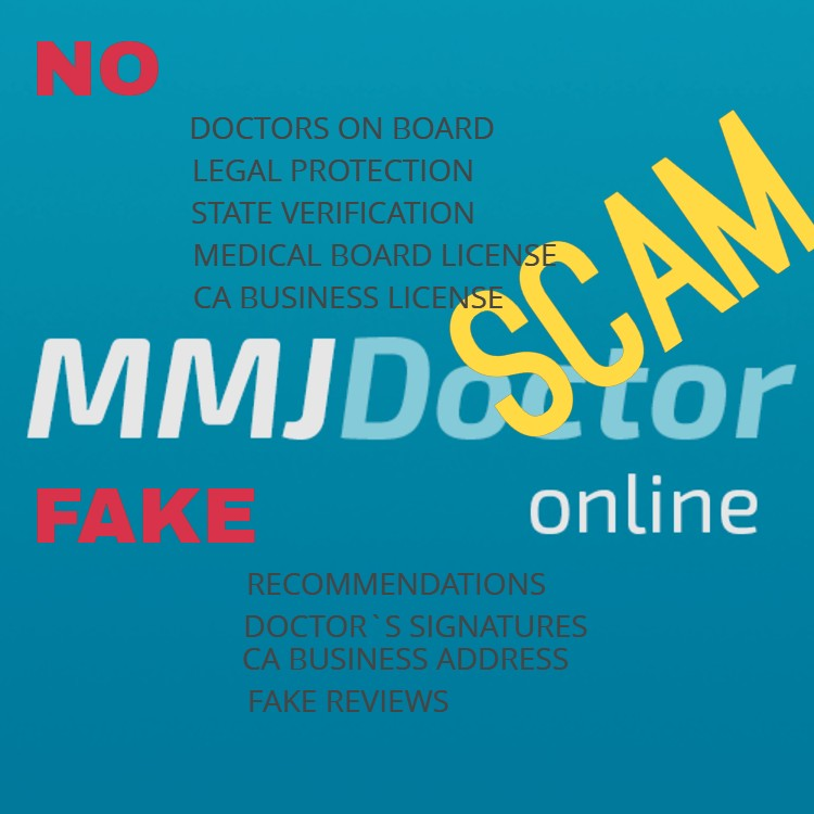 Why MmjDoctorOnline scam